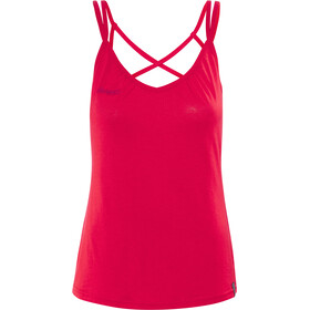 Bergans Cecilie Wool Singlet Dame strawberry/bougainvillea